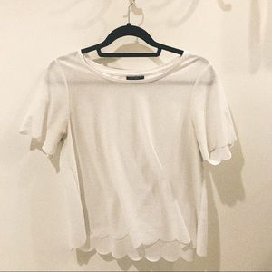 White Topshop T-Shirt